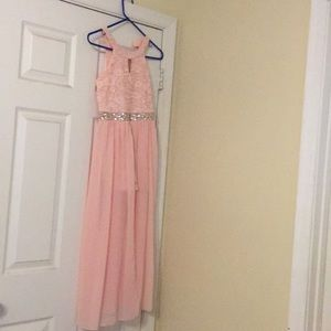 Speechless Kids Pink Gown - Size 12